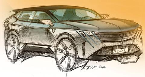 Nuevo Peugeot 3008 podría tomar el formato de SUV Coupé