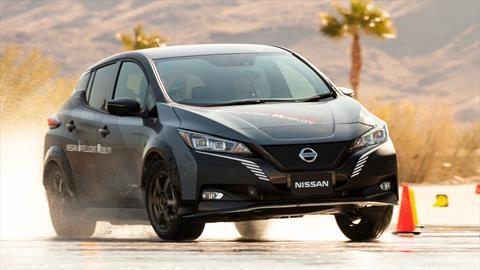 Conoce e-4ORCE, el sistema de tracción total para autos eléctricos de Nissan