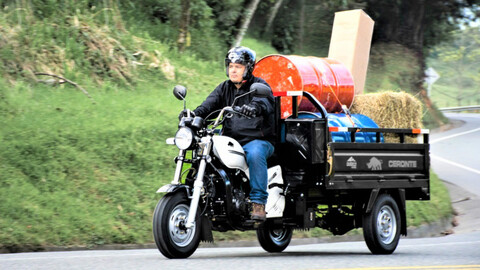 Auteco Mobility le apunta al segmento de motocarros de carga