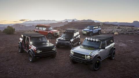 Ford Bronco tiene una amplia lista de accesorios para mejorar su imagen y desempeño