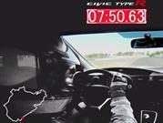 Honda Civic Type R hace 7:50,63 en Nürburgring