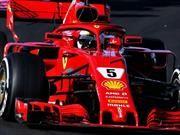 F1 2018: Vettel arrancó con el pie derecho la última semana de ensayos