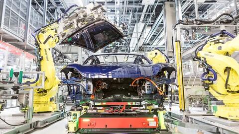 Con el aumento de producción del Taycan, Porsche pide prestados trabajadores a Audi