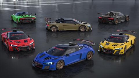 Audi R8 LMS GT2: cada equipo con su propio color