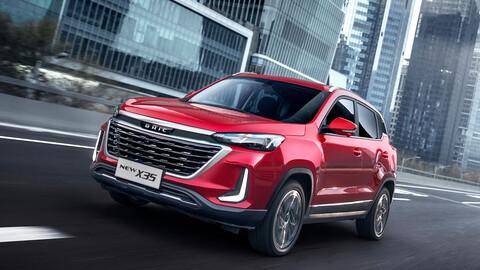 BAIC X35 2022 llega a México, renovación total para el pequeño SUV chino