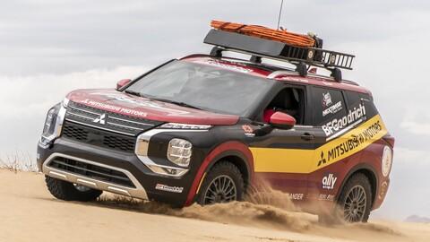 Este Mitsubishi Outlander 2022 participa en el Rebelle Rally, el rally más largo de Estados Unidos
