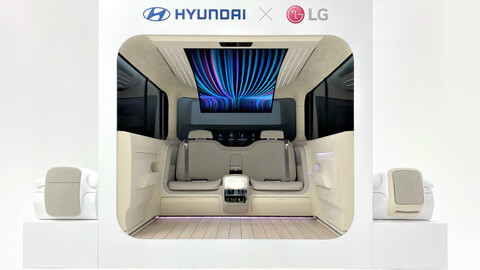 Ioniq Concept Cabin, así serán las cabinas del futuro