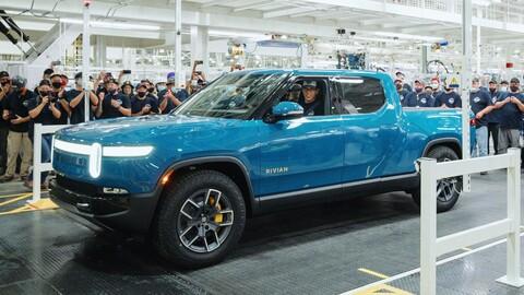 Rivian RT1 inicia la producción de la pickup eléctrica