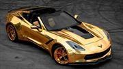 Rey Midas, ¿sos vos?: Este Chevrolet Corvette tiene su toque dorado