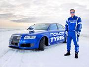 Audi RS6 bate récord mundial de velocidad en nieve: 356 km/h