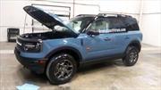 Murió la sorpresa: Ford Bronco Sport ya fue completamente espiada