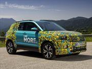 Volkswagen T-Cross se comienza a dejar ver en imágenes