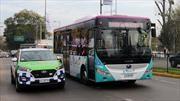Comuna de La Reina recibe tres nuevos buses eléctricos de Yutong