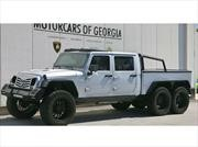 Jeep Wrangler 6x6 por Monster Customs debuta