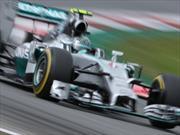 F1 GP de Gran Bretaña: Pole para Rosberg y Mercedes