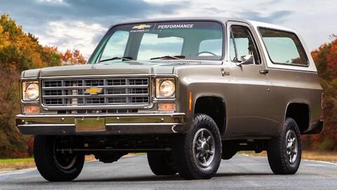 Chevrolet Blazer clásica recibe un nuevo motor eléctrico