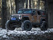 Jeep Wrangler Hunting Unlimited por Vilner, oxidado desde nuevo