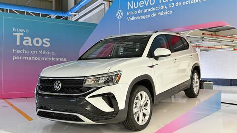 Volkswagen Taos inicia producción en México