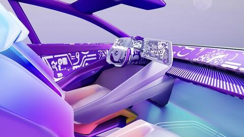 Así serían los interiores de los carros, si fueran hechos por diseñadores de moda