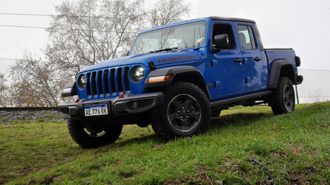Test Jeep Gladiator ¿Qué tal es la pickup cuándo no hacés off-road?