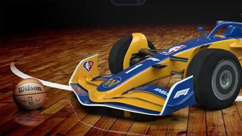 Y si los equipos de la NBA corrieran en la F1