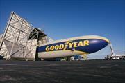 Es posible pasar una noche en el mítico dirigible de Goodyear