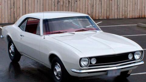 Uno de los primeros Chevrolet Camaro que se fabricó en serie será subastado