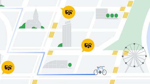 Google Maps evitará con inteligencia artificial que tengas que hacer frenadas bruscas