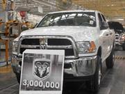 FCA México celebra tres millones de vehículos Ram producidos en nuestro país