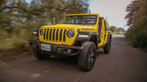 Manejamos el Jeep Wrangler Rubicon X-Treme Trail Rated 2020