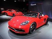 Porsche 718 Boxster y Cayman GTS 2018, más poderosos y equipados