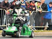 Récord Guinness del scooter de movilidad más rápido del mundo