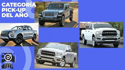 Premios Autocosmos: candidatas a Pick-up de 2021