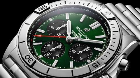 Bentley trae de vuelta al icónico reloj Breitling Chronomat; vale 180,000 pesos
