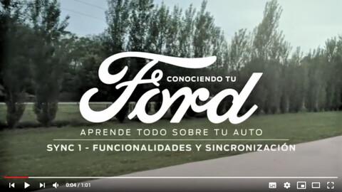 Tutoriales de Ford para aprovechar al máximo sus vehículos