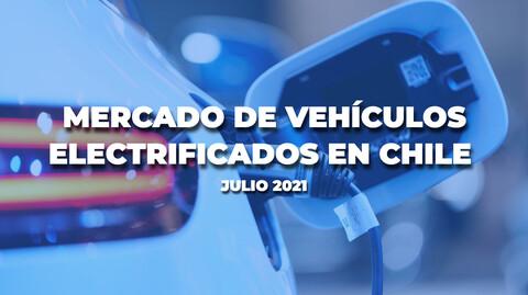 Julio fue un buen mes para la venta de autos electrificados en Chile