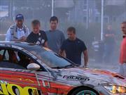 Video: Webber, Loeb, Coulthard y Sainz se divierten derrapando