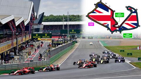 F1: Todo lo que debes saber acerca del Gran Premio de Gran Bretaña de 2020