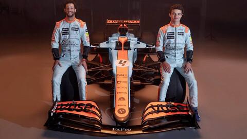 F1 2021: McLaren sorprende con su cambio de diseño para Mónaco