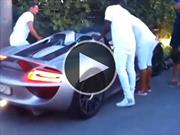 Absurdo accidente de un Porsche 918 Spyder