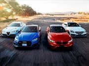 Comparativa: Alfa Romeo Giulia Quadrifoglio vs Audi RS5 vs BMW M4 vs Mercedes-AMG C63 S