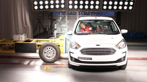 El Ford Ka vuelve a pasar por Latin NCAP