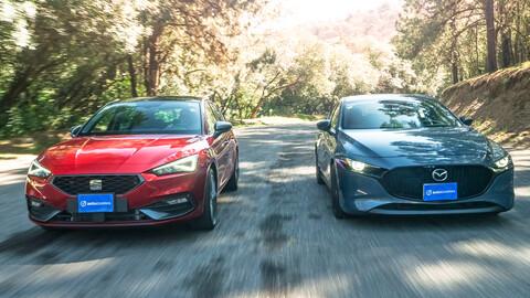 SEAT León 2021 VS Mazda3 Turbo 2021 ¿Cuál hatchback es mejor compra?