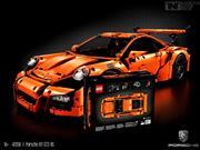 Porsche 911 GT3 RS se convierte en juguete de LEGO