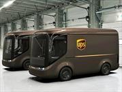 UPS estrena camiones de reparto eléctricos