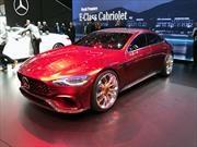 Mercedes AMG GT Sedán Concept, ejecutivo y poderoso