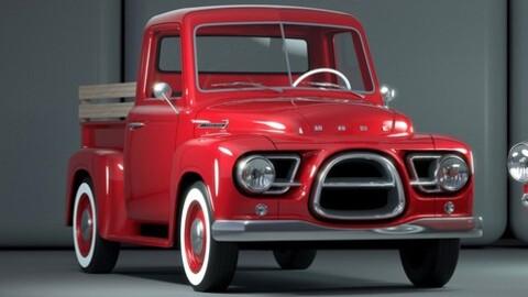 Esta pickup tiene estilo vintage y mecánica eléctrica