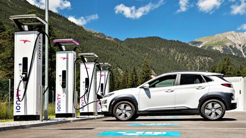 Hyundai se vincula al negocio de las redes de estaciones de carga de vehículos eléctricos