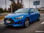 Hyundai Veloster 2019 en Chile, personalidad y potencia, de la mano