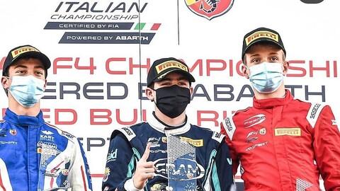 Doble podio para Colombia en Fórmula 4 italiana